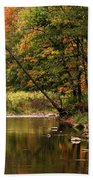 Autumn Reflections Bath Towel