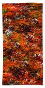 Autumn Riot Bath Towel
