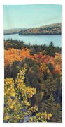 Autumn Rocks Booth's Rock Lookout Hand Towel