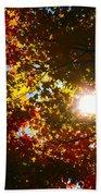 Autumn Sky Hand Towel