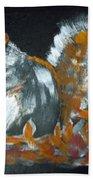 Autumn Squirrel Bath Towel