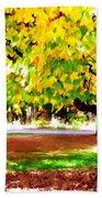 Autumn Trees 6 Bath Towel