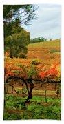 Autumn Vines Bath Towel