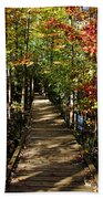 Autumn Walk Bath Towel