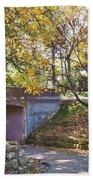 Autumn Walk In The Park Bath Towel
