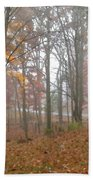 Autumnal Mist Bath Towel
