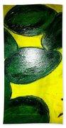 Avocado Man Bath Towel