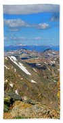 Awesome View From The Mount Massive Summit Bath Towel