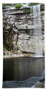 Awosting Falls In July II Hand Towel