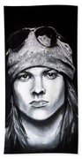 Axl Rose - Welcome To The Jungle Bath Towel