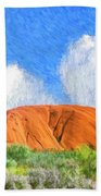 Ayers Rock Bath Towel