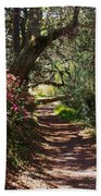 Azalea Path  Bath Towel
