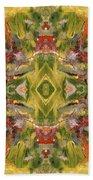 Aztec Kaleidoscope - Pattern 001 - Desert Bath Towel