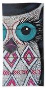 Aztec Owly Bath Towel