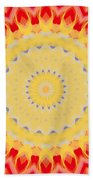 Aztec Sunburst Bath Towel