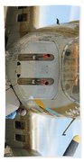 B-17 Front  Bath Towel