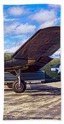 B-24 Liberator Bath Towel