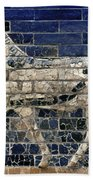 Babylon: Enamel Brick Bull Bath Towel
