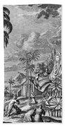 Babylon: Sun Worship Bath Towel