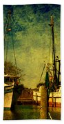 Back Home In The Harbor Hand Towel