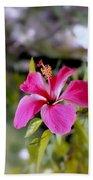 Bahamian Flower Bath Towel