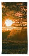 Baja Sunset Bath Towel