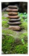 Balancing Zen Stones IIi Bath Towel