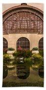 Balboa Park Botanical Building Symmetry Bath Towel