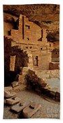 Balcony House, Mesa Verde Np, Co Bath Towel