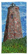 Bald Head Island, Old Baldy Lighthouse Bath Towel