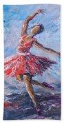 Ballet Dancer Bath Towel