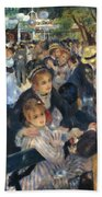 Ball At The Moulin De La Galette 1876 Bath Towel