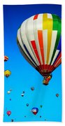 Balloon Festival Bath Towel