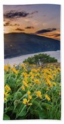 Balsamroot At Sunrise Bath Towel