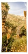 Bandit Country Near The Edge Of The Fan In Ronda Area Andalucia Spain  Bath Towel