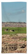 Badlands Panorama Hand Towel