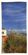 Bandon Coquille River Lighthouse Bath Towel