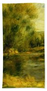 Banks Of The River Bath Towel