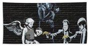 Banksy - Failure To Communicate Bath Towel