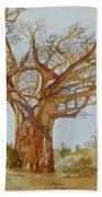 Baobab Tree Of Africa Bath Towel