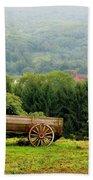 Baraboo Hillside Bath Towel