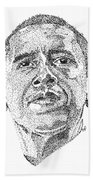 Barack Obama Bath Towel