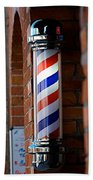 Barber Pole Bath Towel