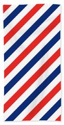 Barber Stripes Bath Towel