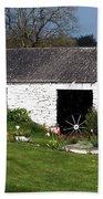 Barn At Fuerty Church Roscommon Ireland Hand Towel