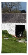 Barn At Fuerty Church Roscommon Ireland Bath Towel