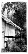 Barns In Black And White Bath Towel