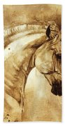 Baroque Horse Series IIi-iii Bath Towel