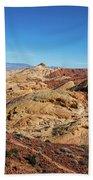 Barren Desert Bath Towel by Ed Clark