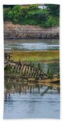 Barry Island Wrecks 2 Bath Towel